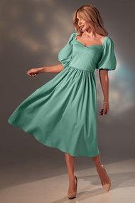 Платье Golden Valley 4744 зеленые тона
