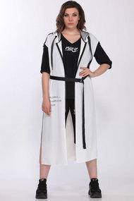 Комплект брючный Lady Secret 2756 черный с белым