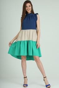 Платье Axxa 55173 Мультиколор