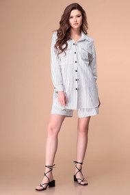 Комплект с шортами Romanovich style 3-2174 молочные тона