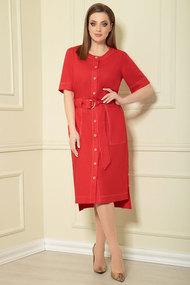 Платье Andrea Style 0362/8 красный