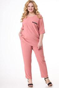 Комплект брючный Algranda 3685-3 розовый