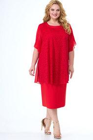 Платье Algranda 3749 красный