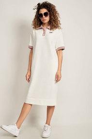 Платье Сч@стье 7228 белые тона