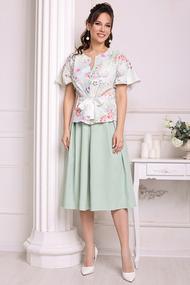 Комплект юбочный Мода-Юрс 2688 мята