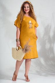 Платье Лилиана 844 шафран
