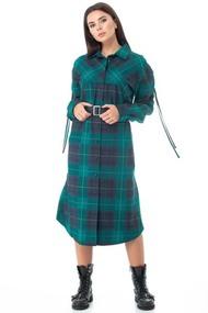 Платье Anelli 972 Бирюза