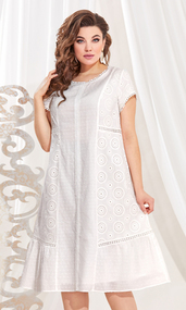 Платье Vittoria Queen 13713 белый