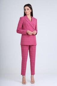 Комплект брючный TVIN 8138 розовый