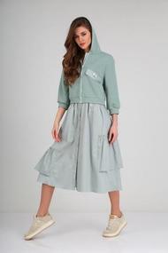 Платье TVIN 8126 полынь