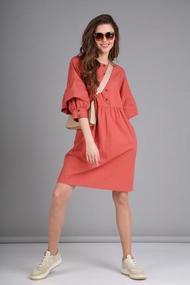 Платье TVIN 8112 терракот