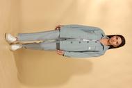 Комплект брючный Vilena 711 светло-голубой