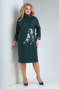 Платье Vilena 682 зеленый