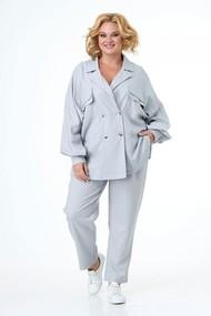 Комплект брючный Anelli 1020-1 серый
