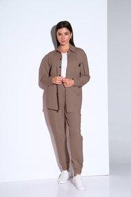 Комплект брючный Andrea Fashion AF-157 мокко