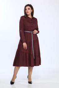 Платье Lady Style Classic 2329 Марсала