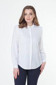 Блузка ELITE MODA 5037 белый