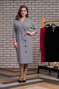 Платье Elady 3929 серый