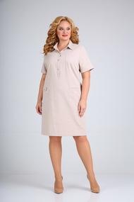 Платье Mamma moda 600 бежевый
