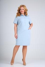 Платье Mamma moda 600 голубой