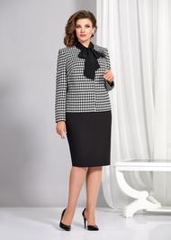 Комплект юбочный AGATTI 3679 черно-белый