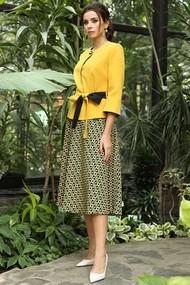 Комплект юбочный Мода-Юрс 2520-2 горчица