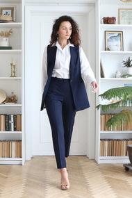 Комплект брючный Juliet Style D191 синий
