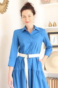 Платье Juliet Style D192-3 василек