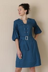 Платье Juliet Style D210 бирюза