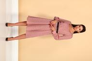 Платье Juliet Style D214 розовый