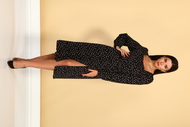 Платье Juliet Style D214-1 чёрный