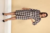 Платье Juliet Style D215 КЛЕТКА
