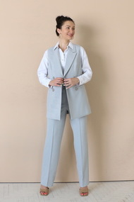 Комплект брючный Juliet Style D208 серый