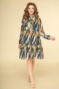 Платье Дали 5535 беж