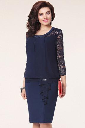 Платье Vittoria Queen 1093/1 темно-синий