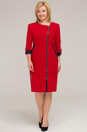 Платье Теллура-Л 1201 красный фото