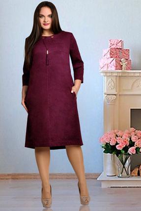 Платье Тэнси 208 гранатово-винный фото