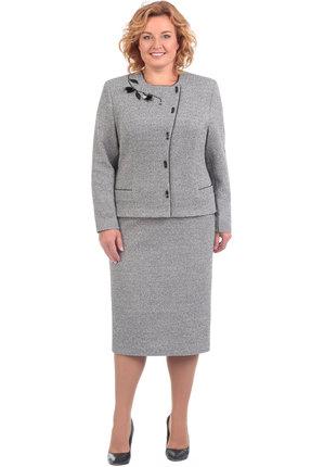 Комплект юбочный Линия-Л А-1605 серый