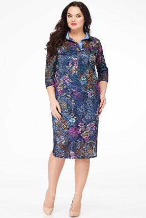 Платье Avanti Erika 606-1 голубые тона