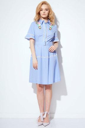 Платье Anna Majewska 1096 голубой фото
